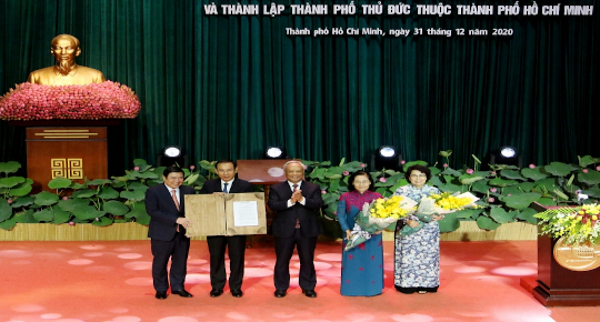 Thu Duc City officially established
